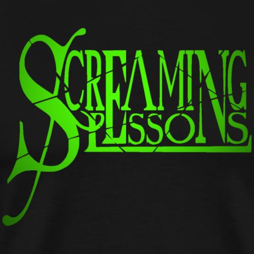 Screaming Lessons Logo - Männer Premium T-Shirt