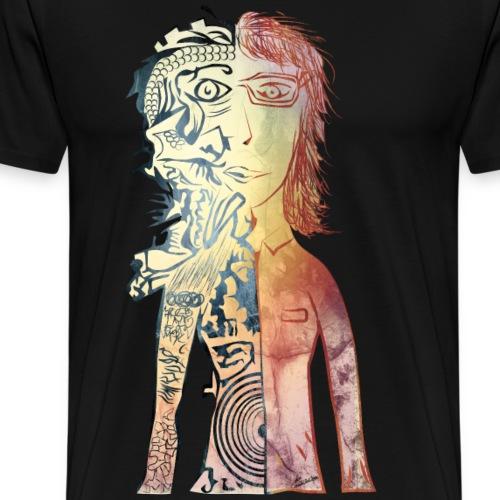 struktur - Herre premium T-shirt