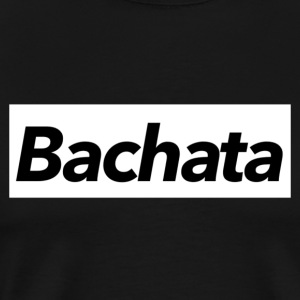 Bachata Shirt white - Mambo New York - Men's Premium T-Shirt