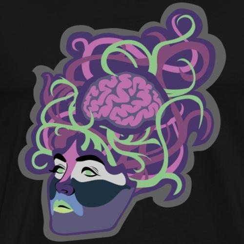 Brain lag - Männer Premium T-Shirt