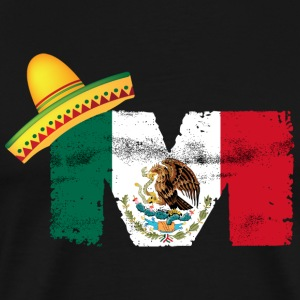 Mexican Flag - Men's Premium T-Shirt