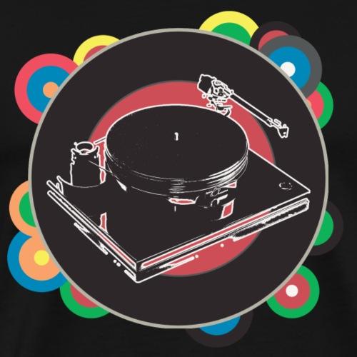 Vinyl - Color Edition - Mannen Premium T-shirt