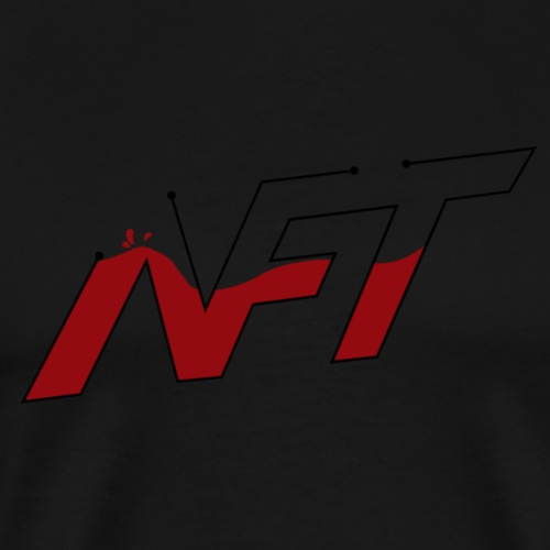 NiftGaming Logo - Men's Premium T-Shirt
