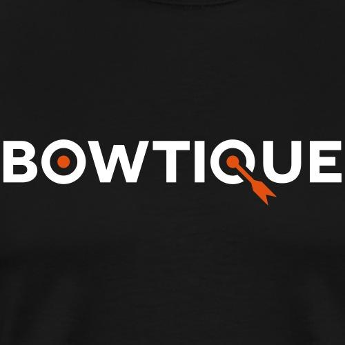 Bowtique - Bogenschießen mit Style und Bogen - Männer Premium T-Shirt