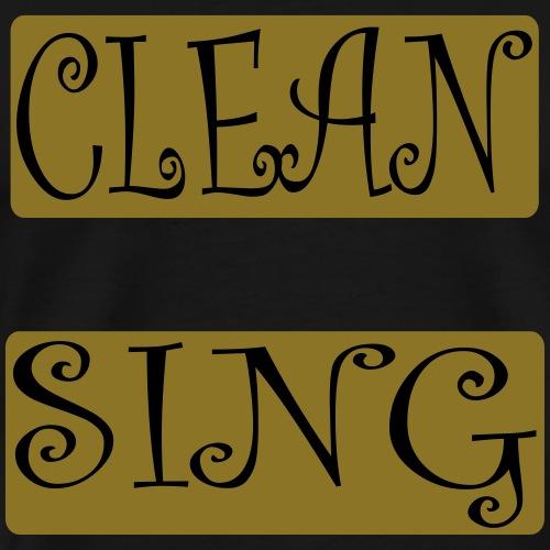 Cleansing - Männer Premium T-Shirt