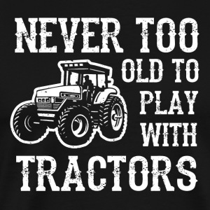 Man's toy tractor - Men's Premium T-Shirt