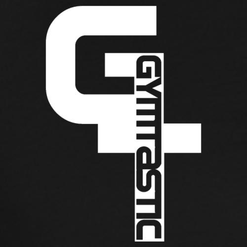 GT - Gymtastic - vertikal - weiß - Brust rechts - Männer Premium T-Shirt