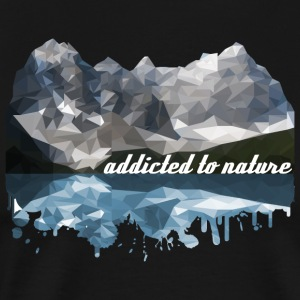 addicted to nature - Männer Premium T-Shirt