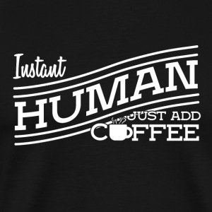 Les amateurs de café refroidissent citations - T-shirt Premium Homme