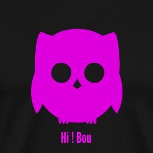 HI ! Bou Pink Edition - T-shirt Premium Homme