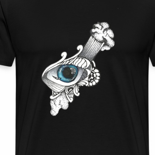 Abstract Eye - Männer Premium T-Shirt
