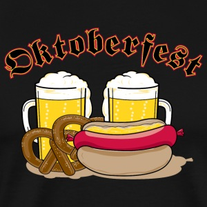 Oktoberfest Personalize with Date or Year - Men's Premium T-Shirt