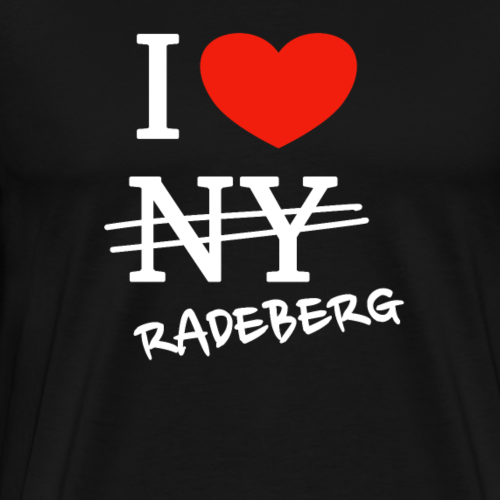 I love Radeberg - Männer Premium T-Shirt