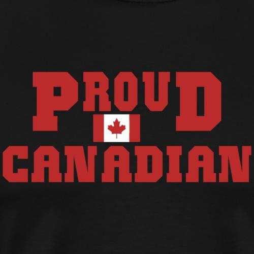 Proud Canadian - Men's Premium T-Shirt