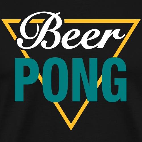 Beer Pong Dreieck - Männer Premium T-Shirt