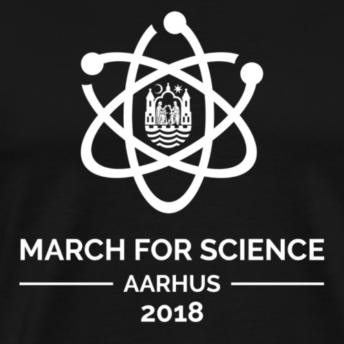 March for Science Aarhus 2018 - Men's Premium T-Shirt