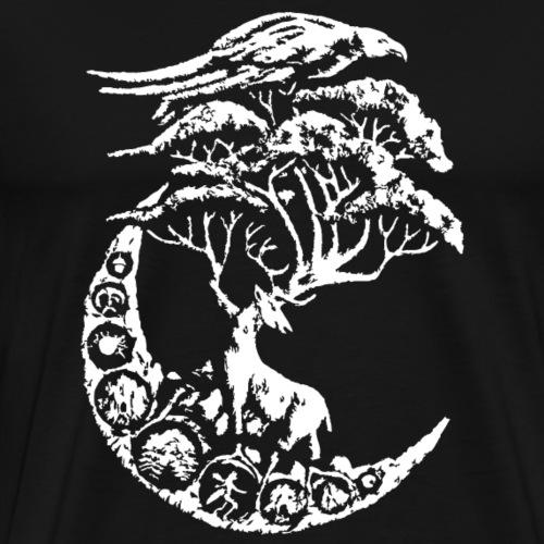 cerf mythique - T-shirt Premium Homme