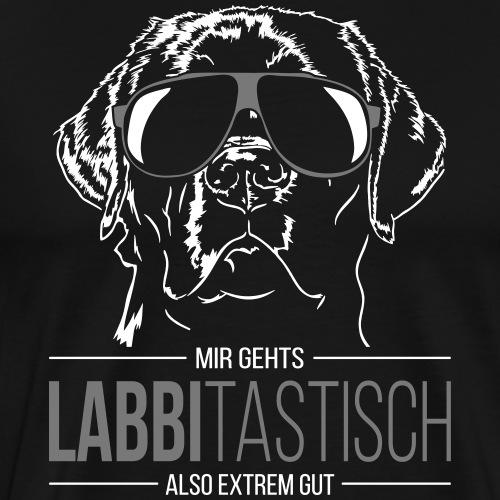 LABBITASTISCH Labrador - Männer Premium T-Shirt