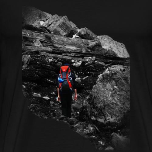 The hiker - Mannen Premium T-shirt