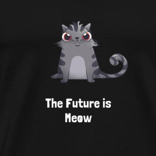 Ethereum CryptoKitties The Future Is Meow - Männer Premium T-Shirt