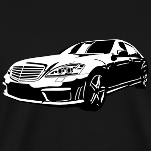 sedan - Herre premium T-shirt