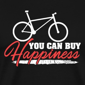 You Can Buy Happiness with Bicycle - Men's Premium T-Shirt