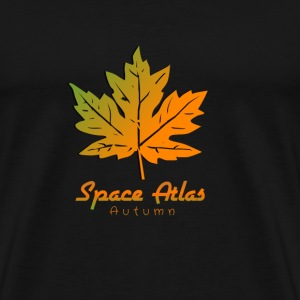 Ladies Long Sleeve Shirt Autumn Atlas Space - Men's Premium T-Shirt