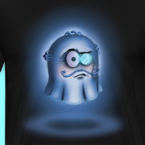 Ghost with monocle - Koszulka męska Premium