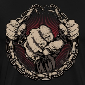 fighting - Men's Premium T-Shirt