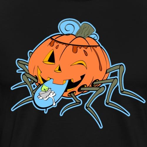 JACK-O-SPIDER - Männer Premium T-Shirt