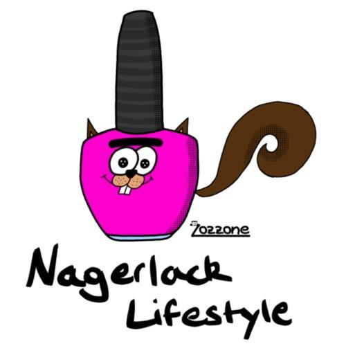 Nagerlack Lifestyle - Männer Premium T-Shirt