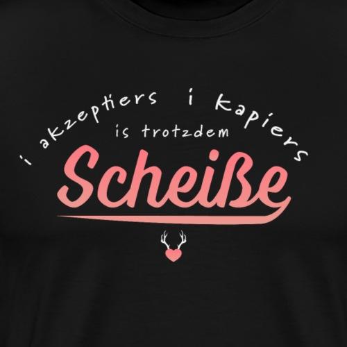 Scheisse - Männer Premium T-Shirt