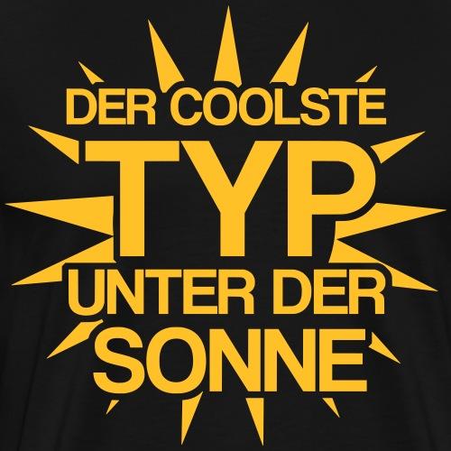 der coolste typ unter der Sonne Mann Geschenkidee - Männer Premium T-Shirt
