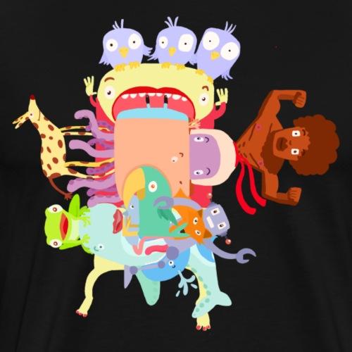 mosaique - T-shirt Premium Homme