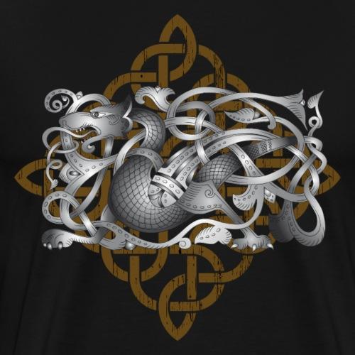 Celtic Dragon - Men's Premium T-Shirt