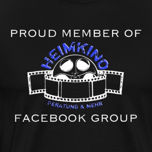 H B M Shop Logo Proud Member of Weiss - Männer Premium T-Shirt