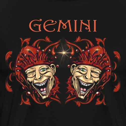 Sternzeichen Zwillinge - Männer Premium T-Shirt