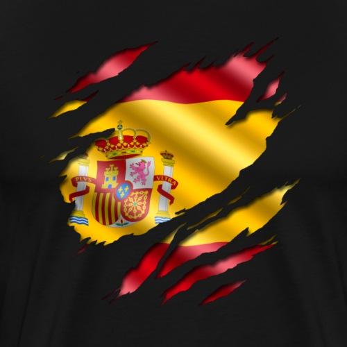 Spanien unter dem Shirt! - Männer Premium T-Shirt