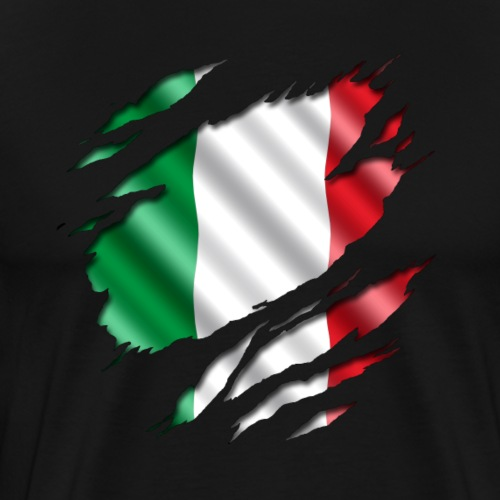 Italia unter dem Shirt - Männer Premium T-Shirt