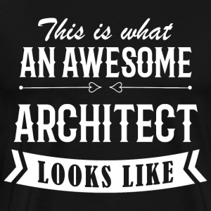 Awesome Architect - Männer Premium T-Shirt