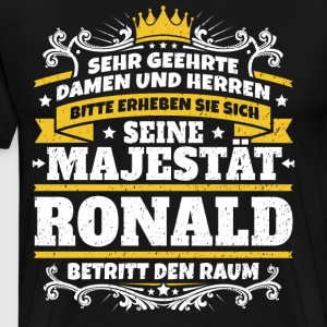His Majesty Ronald - Men's Premium T-Shirt