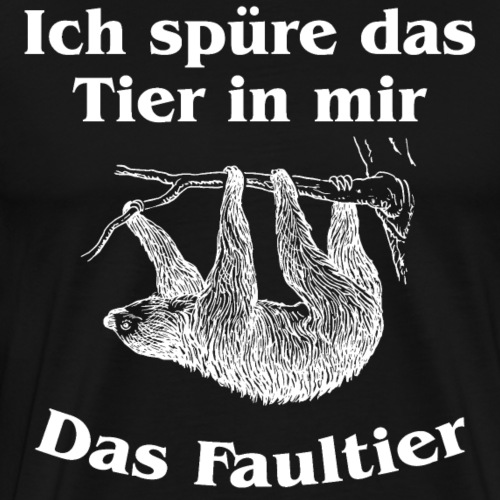 Faultier 2 - Männer Premium T-Shirt