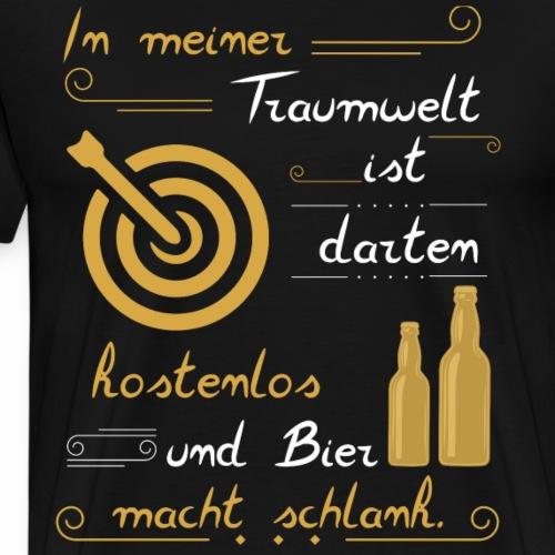 Dart sollte kostenlos sein. - Männer Premium T-Shirt