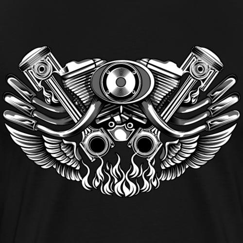 Engine - Men's Premium T-Shirt