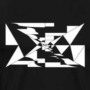 Geometry / White - Men's Premium T-Shirt