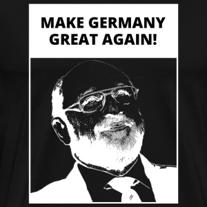 God - Chancellor | Make Germany Great Again - Fun - Men's Premium T-Shirt