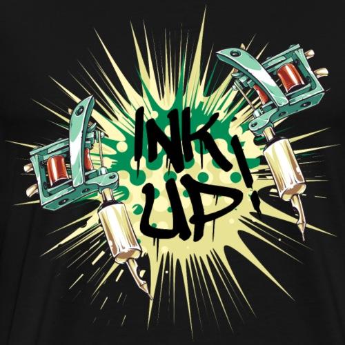 Ink Up das Tattoo Shirt Geschenk - Männer Premium T-Shirt