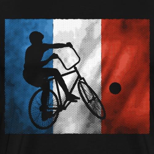 Radball | Flagge Frankreich - Männer Premium T-Shirt