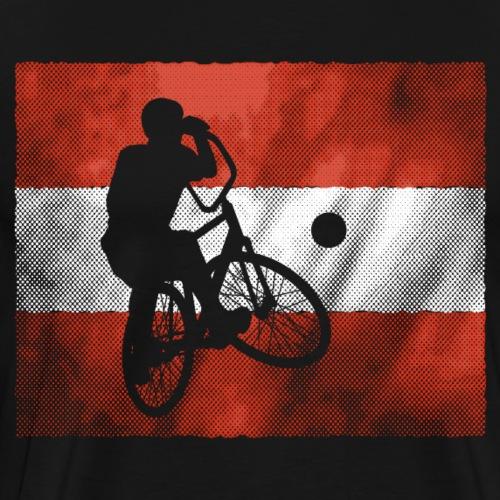 Radball | Flagge Österreich - Männer Premium T-Shirt