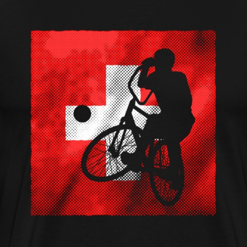 Radball | Flagge Schweiz - Männer Premium T-Shirt